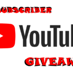 100 YouTube Subscriber Giveaway!